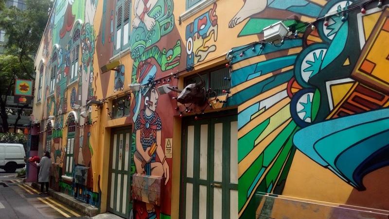 Street Art in Singapur
